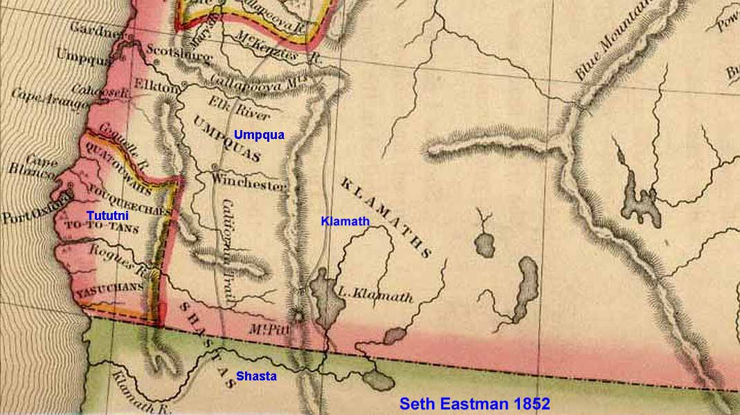 Klamath on United Nations Map